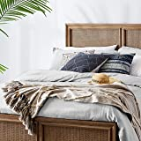 Amazon Brand – Stone & Beam Hand-Woven Global Throw Blanket With Tassels 100% Cotton