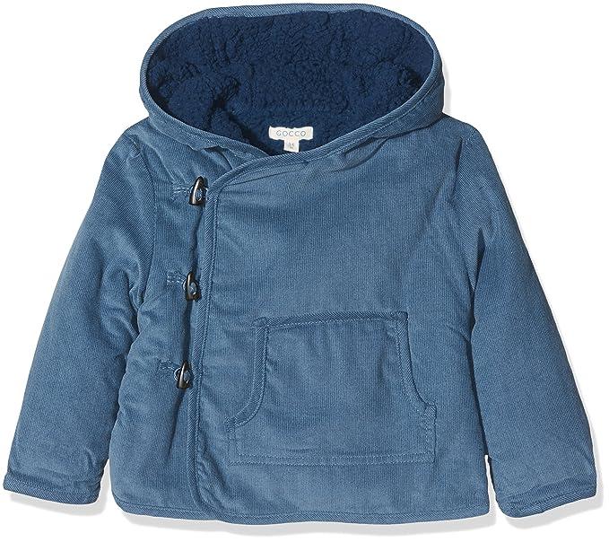 Gocco Abrigo Micropana, Blusa para Bebés, (Turquesa Oscuro), 6-9 Meses: Amazon.es: Ropa y accesorios