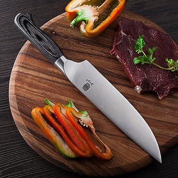 Cuchillo Chef Derwork Chefs Cuchillos Profesional Hoja de ...