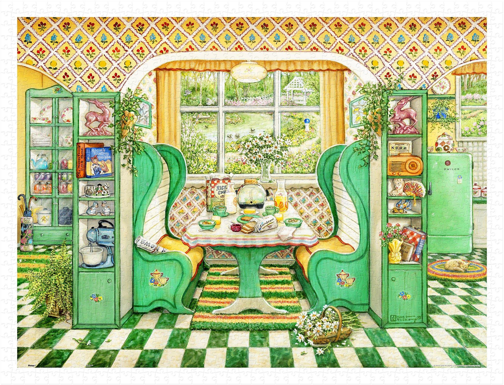 Pintoo H2015  John Obrien  Irish Landscape  1200 Piece Plastic Puzzle Sonstige