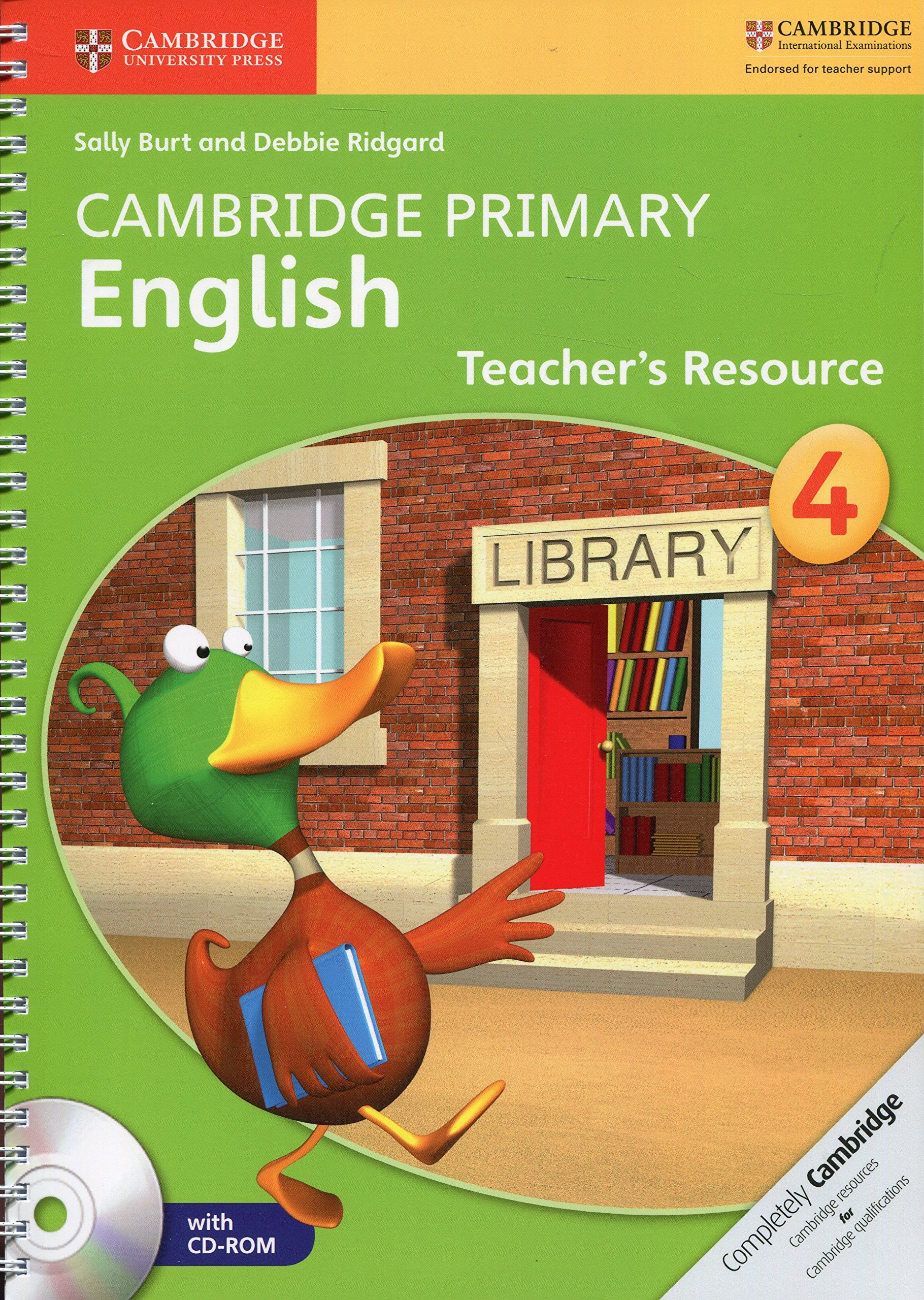 Cambridge Primary English Stage 4 Teacher's Resource Book with CD-ROM PDF