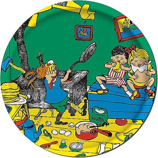 Pippi Langstrumpf Tablett Birke Pippi Backt Pfannkuchen O 25 Cm Ary Trays Amazon De Kuche Haushalt