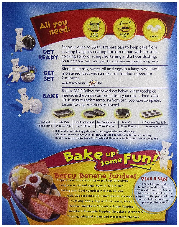 Amazon.com  Pillsbury Cake Mix Moist Supreme Strawberry 15.25 oz  Grocery u0026 Gourmet Food  sc 1 st  Amazon.com & Amazon.com : Pillsbury Cake Mix Moist Supreme Strawberry 15.25 oz ... Aboutintivar.Com
