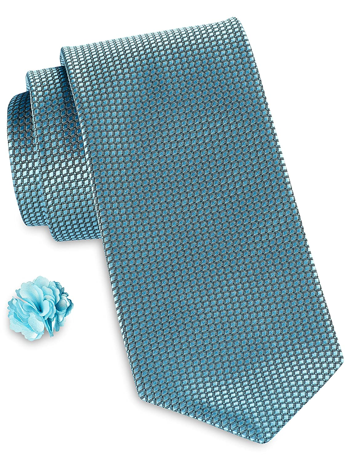 Synrgy by DXL Tonal Deco Neat Pocket Square