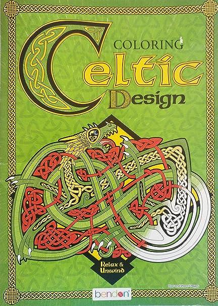 Amazon Com Bendon Celtic Design Advanced Adult Coloring Book