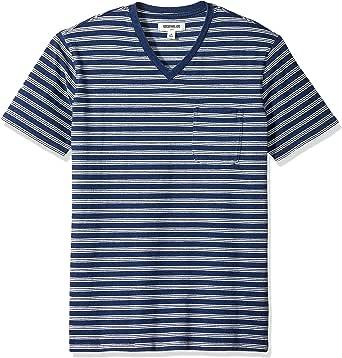 Goodthreads Men's Short-Sleeve Indigo V-Neck Pocket T-Shirt