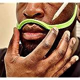Brink: The Clean Edge - Beard Shaping Tool, Beard Shaper, Beard Guide, Hair Trimmer Stencil