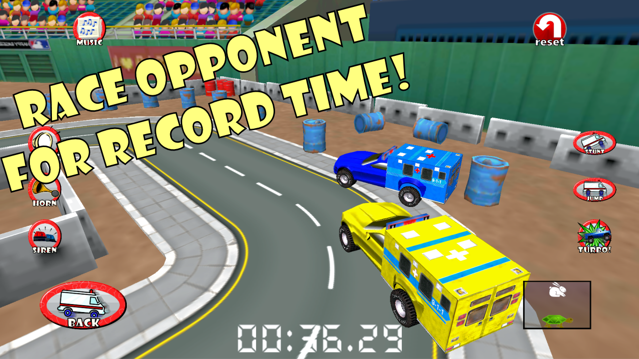 Amazon.com: Ambulance Race & Rescue! 3D Adventure Sim: Appstore for Android
