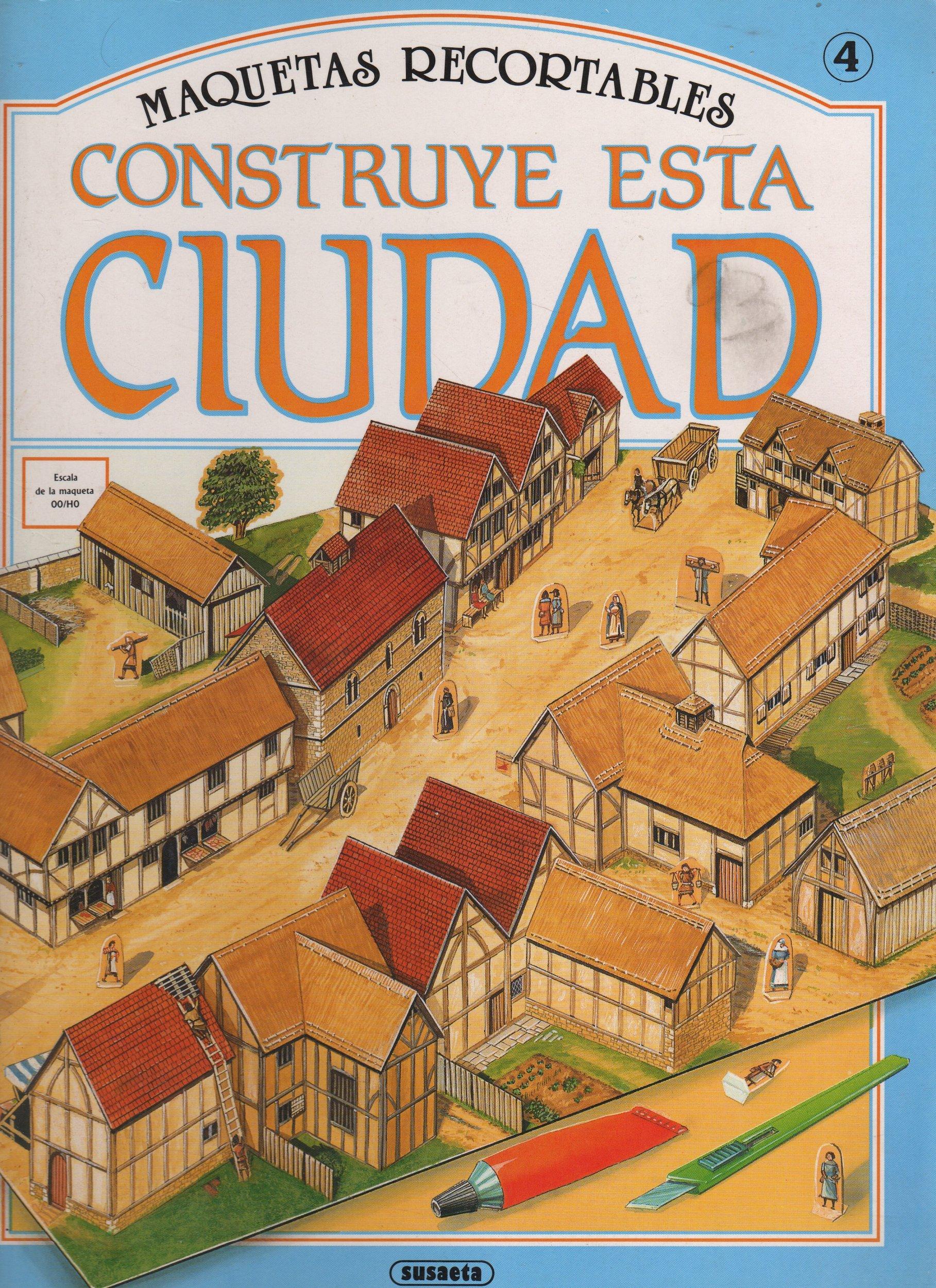 Construye esta ciudad medieval (Maquetas Recortables ...