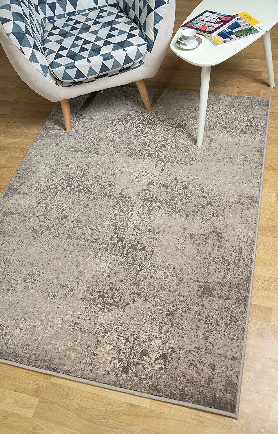 CHEAP /& QUALITY CARPETS FLOW brown Bedroom width 3m 4m 5m Large RUG ANY SIZE