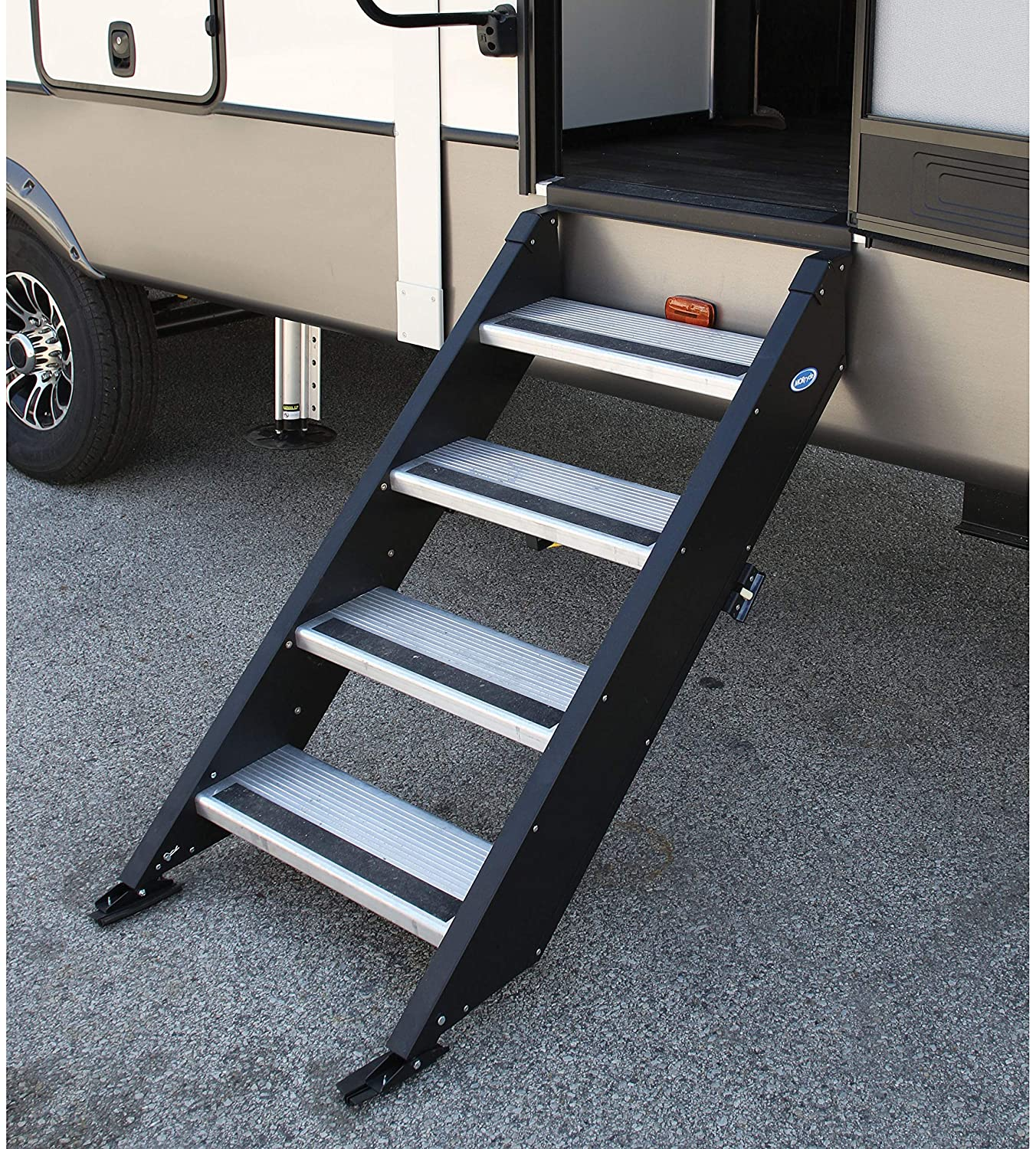 "MOR/ryde International Inc. STP-4-30-03H Fold Up Step 4 Step 30"" Door"