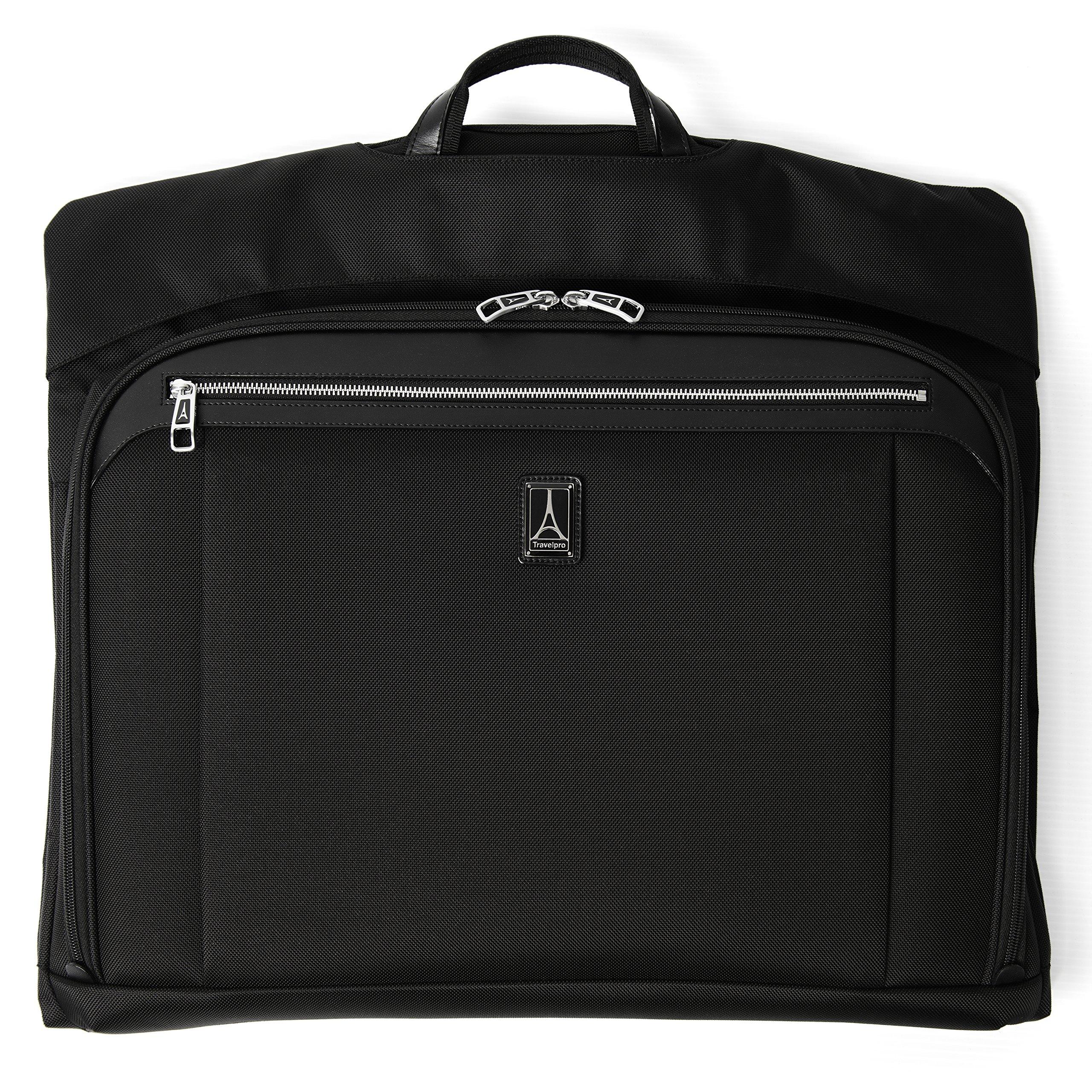 Travelpro Luggage Platinum Elite 22'' Bi-Fold Carry-on Garment Valet, Shadow Black