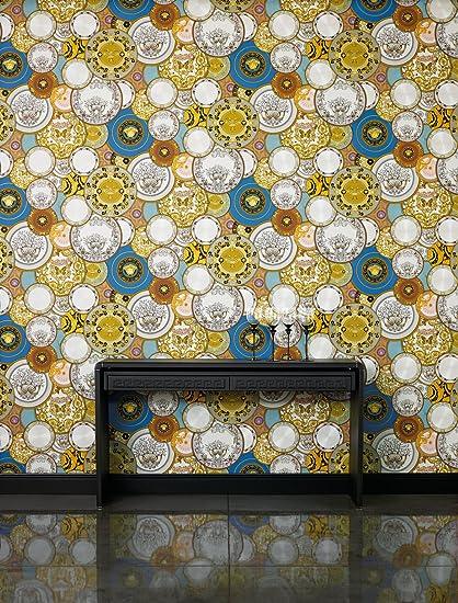 "Amazon.com: Versace Wallpaper, ""Etoiles de la Mer 2"", Nautical Decor - Textured Pattern - 27.56"" x 11 yd, 75.75 sq ft - AS349011 -Wall-Art US: Home & ..."