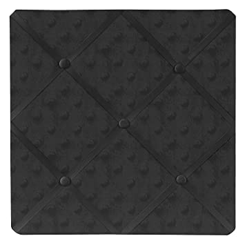 Amazon.com: Sweet diseños Jojo Solid Negro Minky Dot Tela ...