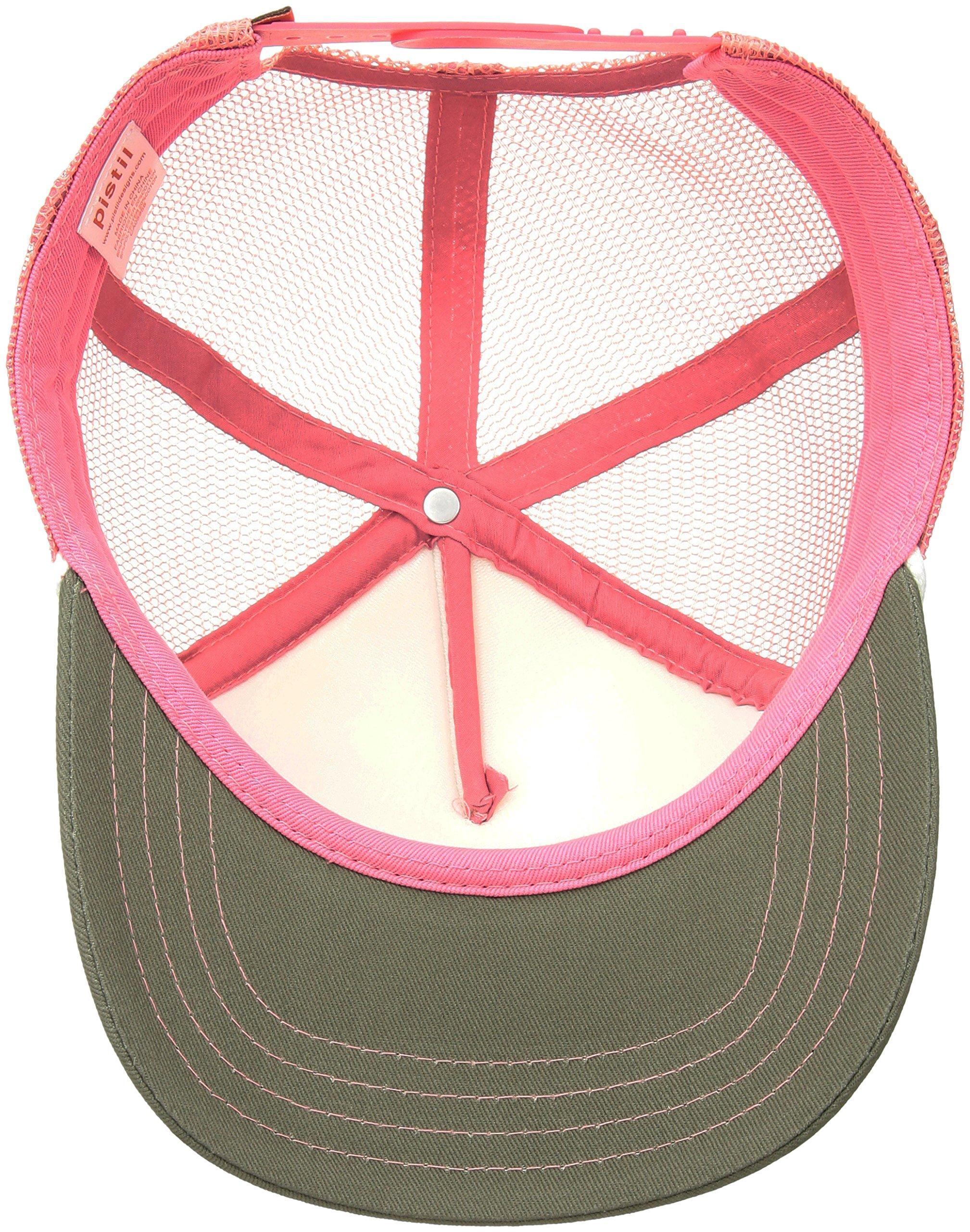 Pistil Women's Matty Trucker Cap, Olive by pistil (Image #3)