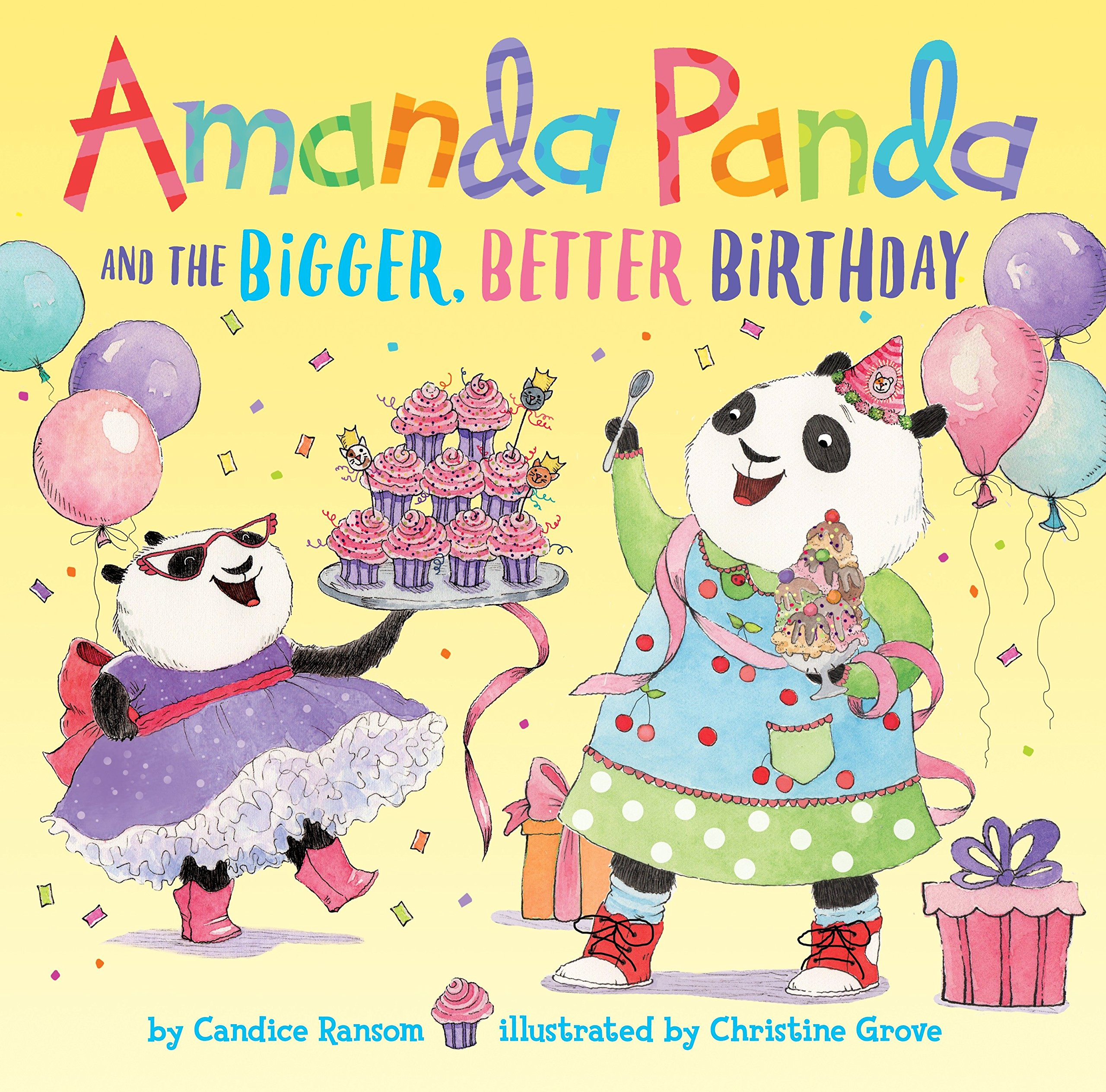 Download Amanda Panda and the Bigger, Better Birthday PDF