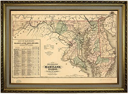 Amazon | メリーランド州、デラウェア州、コロンビア特別区の歴史的な ...