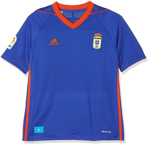 adidas Ro H JSY Y Camiseta de Equipación-Real Oviedo Sad ...