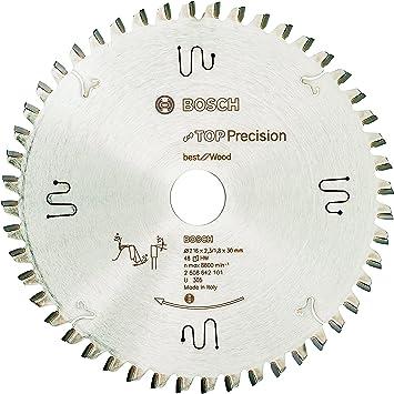 Bosch 2 608 642 497 216 x 30 x 2,4 mm Hoja de sierra circular Expert for Wood pack de 1 48