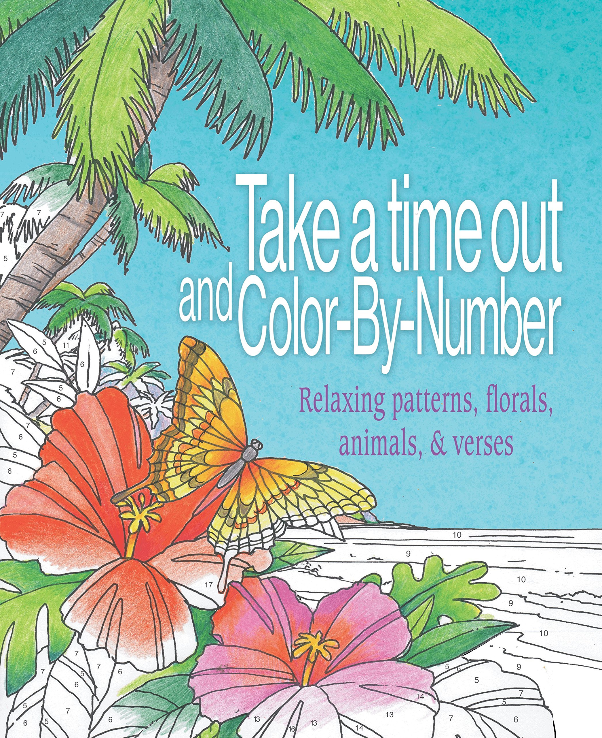 Amazon.com: Take a Time Out and Color by Number: Relaxing Patterns ...