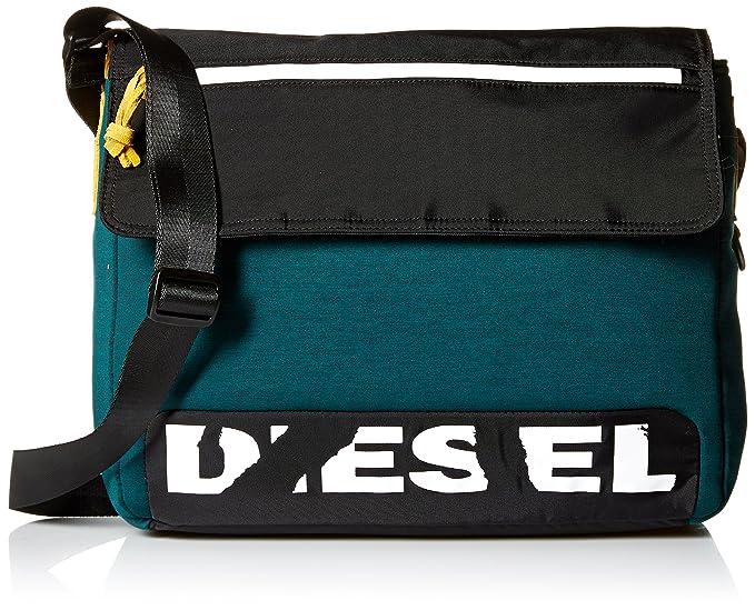 Amazon.com: Diesel Men s Scuba bolsa de mensajero, talla ...