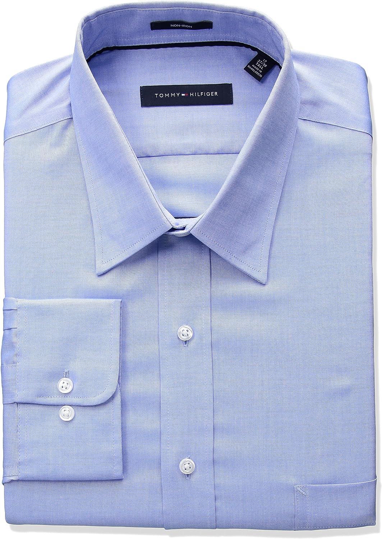 tommy hilfiger big and tall dress shirts