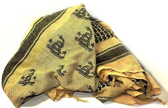 Amazon.com  Gadsden Flag Libertarian Shemagh Keffiyeh  Clothing 33eb979de7