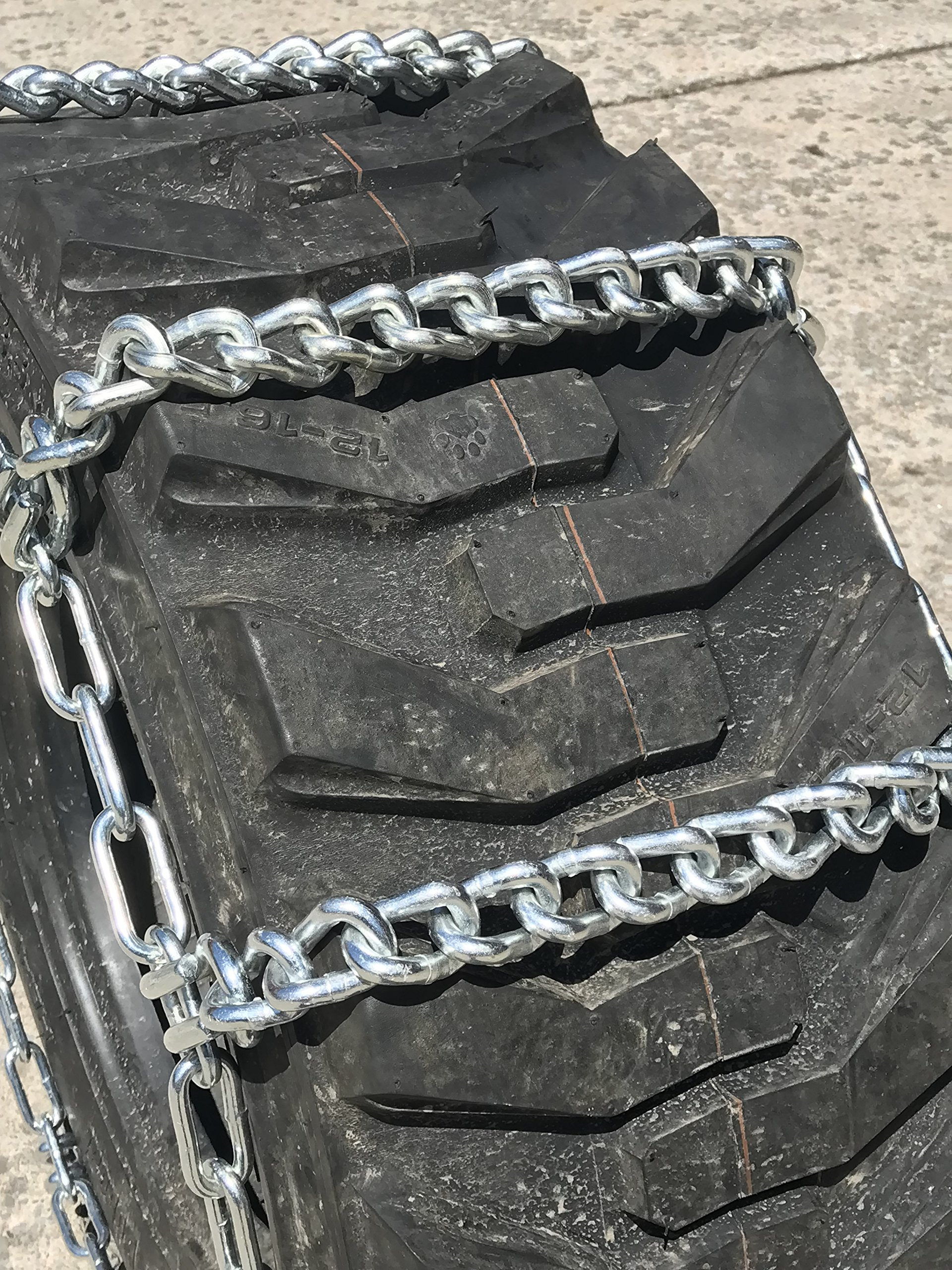 TireChain.com 10 16.5 10-16.5 Ladder Tractor Tire Chains Set of 2 by TireChain.com (Image #2)