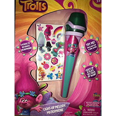 Trolls Light-up Melody Microphone: Toys & Games