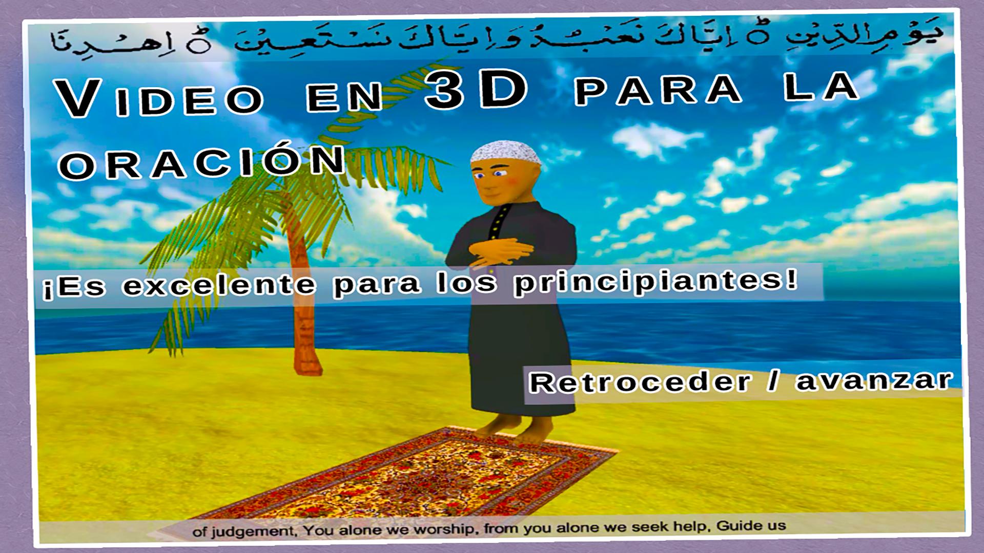 Salah 3D Pro Gratis: Aprende la oración islámica durante