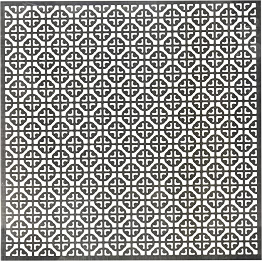 Mosaic 12 by 12-Inch M-D Hobby /& Craft 573-50 Silver Colored Metal Sheet