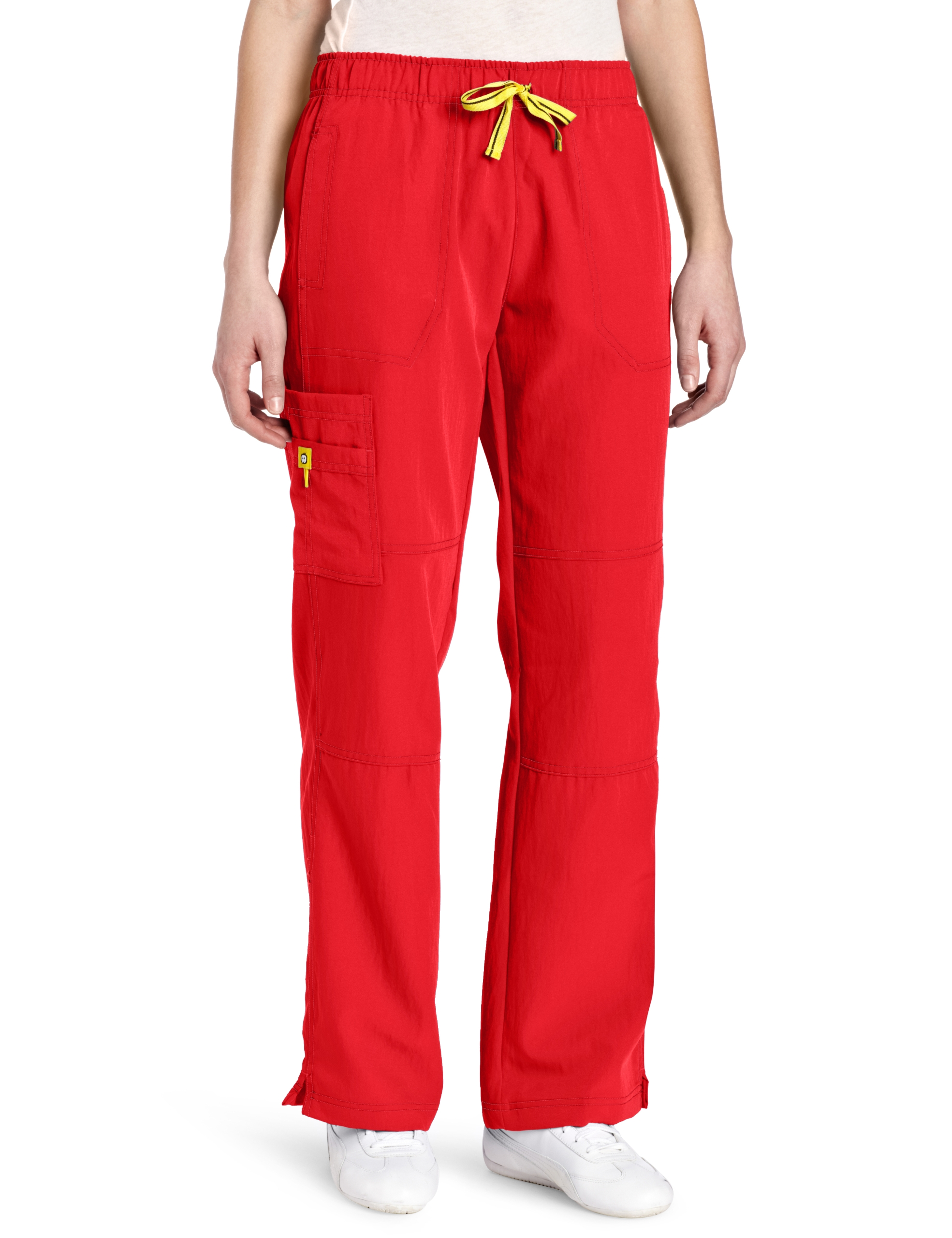 WonderWink Women's Scrubs Four Way Stretch Sporty Cargo Pant, Poppy, X-Small
