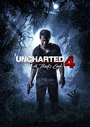 Uncharted 4 A Thief's End Poster