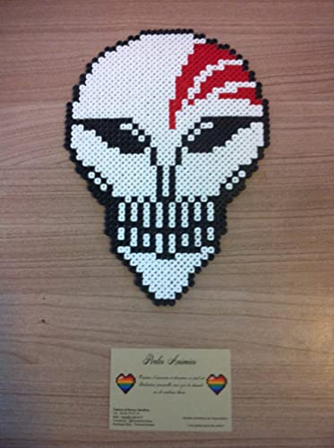 Pixel Art Bleach Masque Hollow Amazonfr Handmade