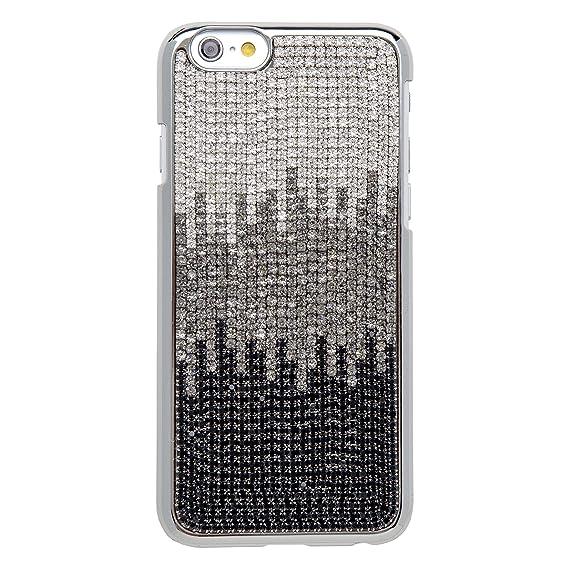 Amazon.com  KALIFANO iPhone 6 Case with Wavy Design - Crystal Black ... 324a9d94da5f