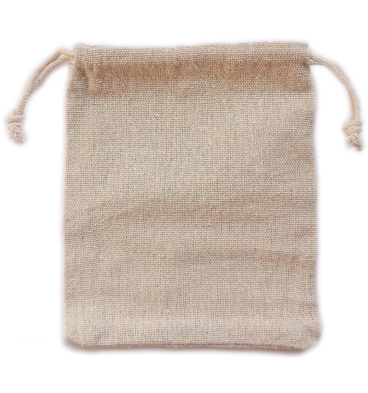 4.72x5.9 inch for Wedding Halloween Christmas Party Gifts Decor Bracelet Actopus 50pcs Burlap Bags 12x15cm