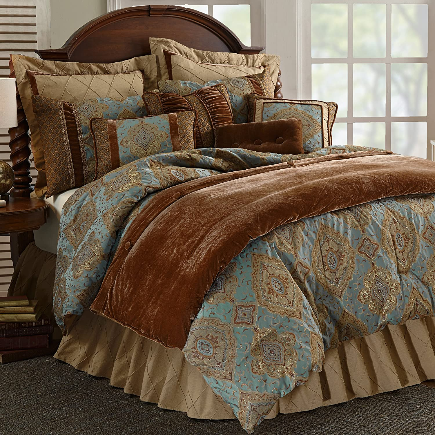 j southwest montaneros by bedding set pin rust new queen striped york comforter