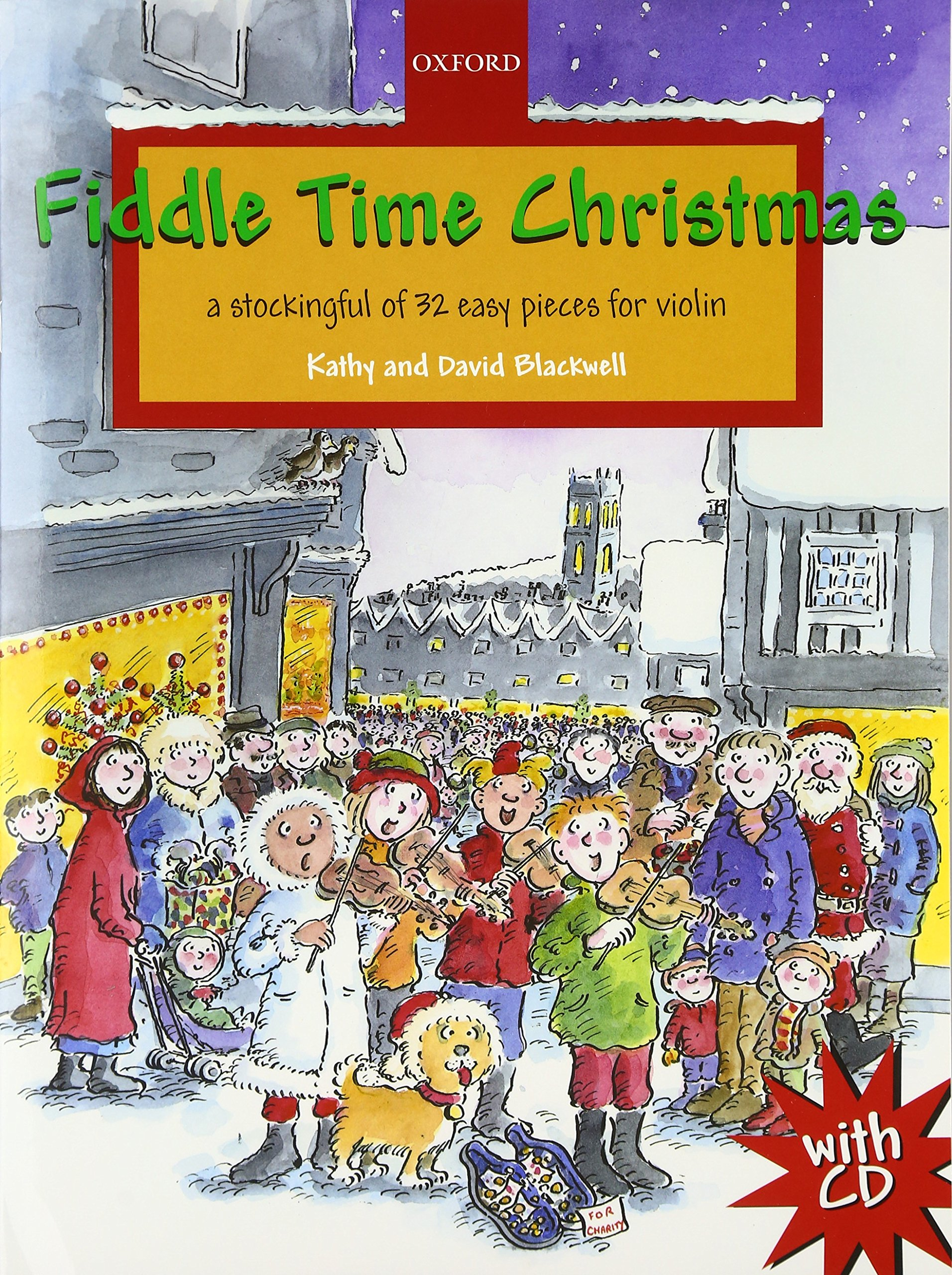 Download Fiddle Time Christmas + CD: A stockingful of 32 easy pieces for violin ebook