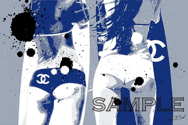 [Mer'Ciel] #003CWH CHANEL ブランド モチーフ アート ポスター (A1, 02) [並行輸入品] B01JV2BF0G A1 02 2 A1