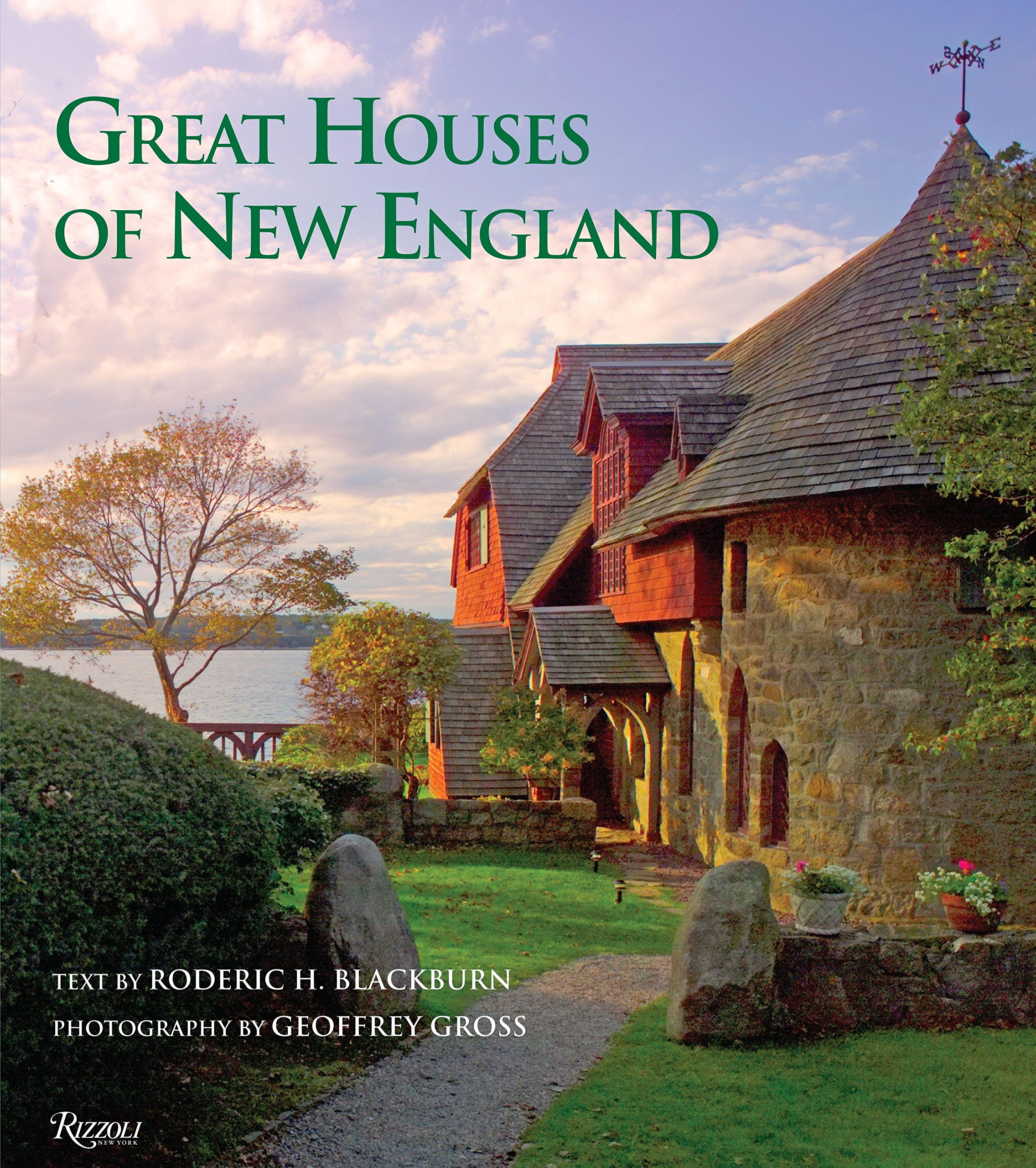 Great Houses Of New England Roderic H Blackburn Geoffrey Gross History House Fuse Box 9780789327192 Books