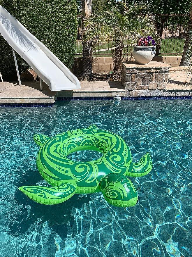 Amazon.com: Tortuga de mar inflable para piscina, para ...