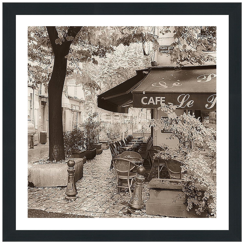 Picture Perfect International Alan Blaustein Café, Aix en Provence Framed Plexiglass Décor Wall-Decor 39.5' x 39.5' x 0.75'