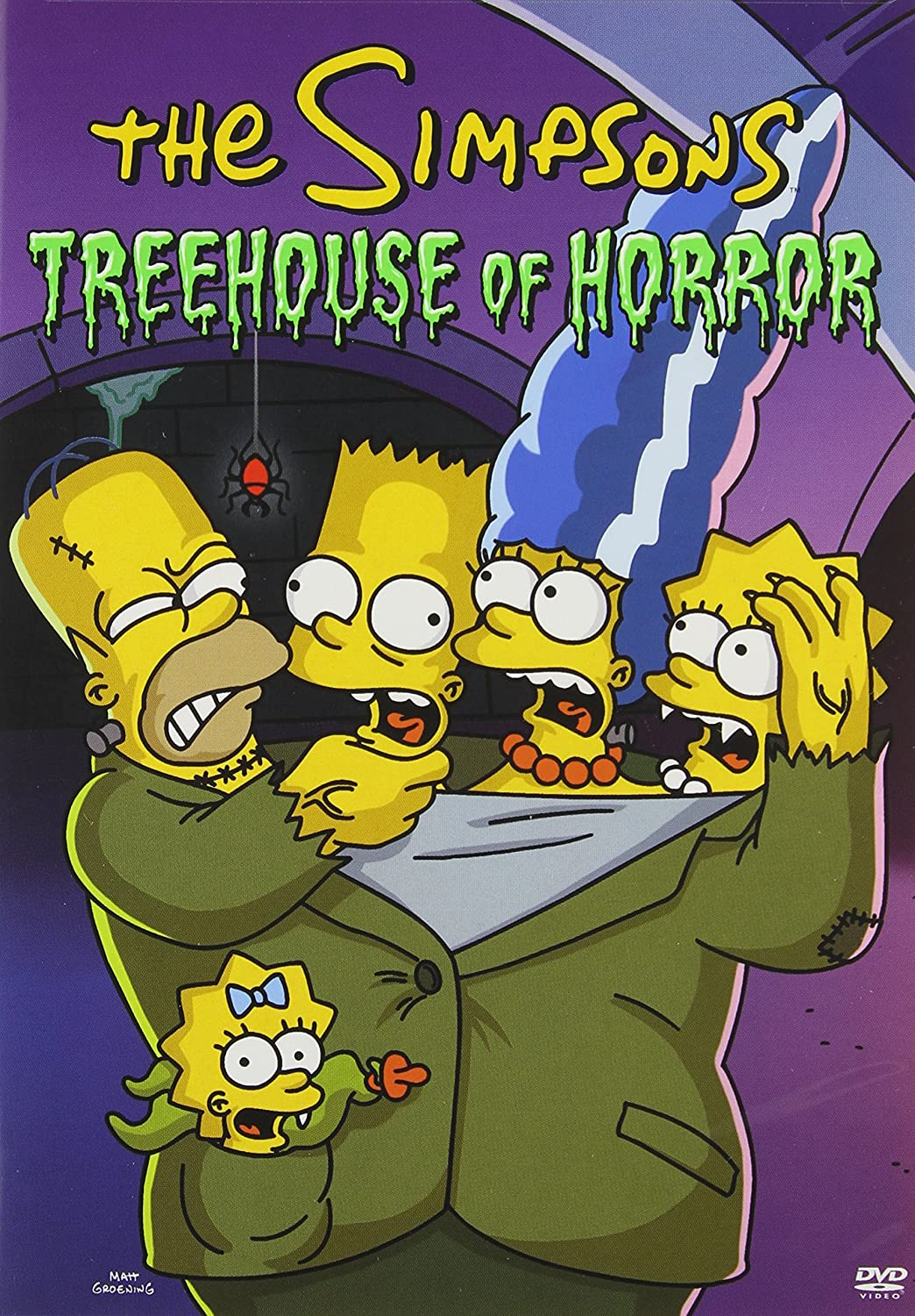 The Simpsons Treehouse Of Horror Affleck Neil Anderson Viii Bob Anderson Mikel B Archer Wesley Baeza Carlos Butterworth Kent Cashman Shaun Clements Iii Chris Dietter Susie Hall Klay Kirkland Mark