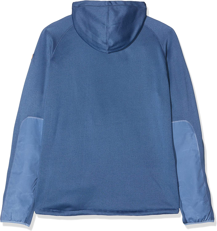 Blau FJALLRAVEN Herren /Övik Fleece M Sweatshirt 2XL Blue Ridge