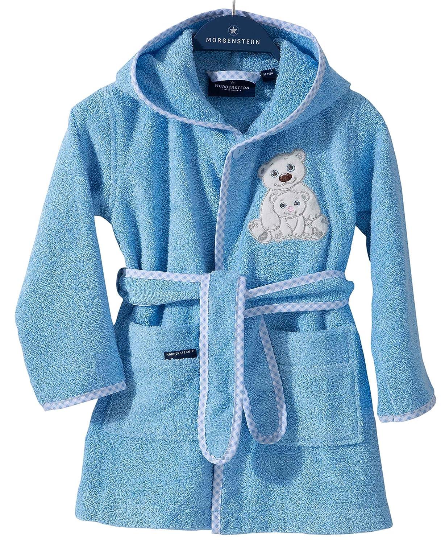 4e1f555105 Morgenstern Dressing Gown for Children Bathrobe with Hood