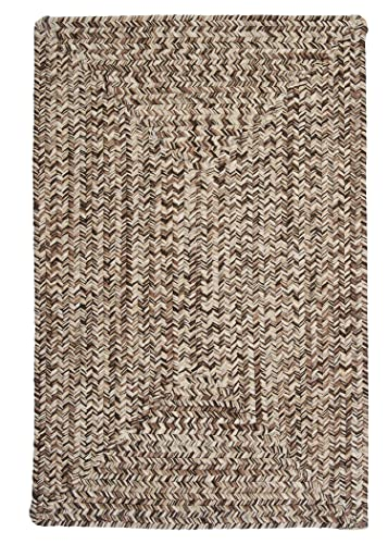 Corsica Rectangle Area Rug, 4 by 6-Feet, Weathered Brown