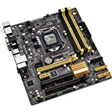 Asus B85M-E Motherboard (Socket 1150, Intel B85, 4x DDR3, S-ATA 600, Micro ATX, 1x PCIe 3.0/2.0 x16, Haswell, Supports Intel 4th Generation Core Processors)