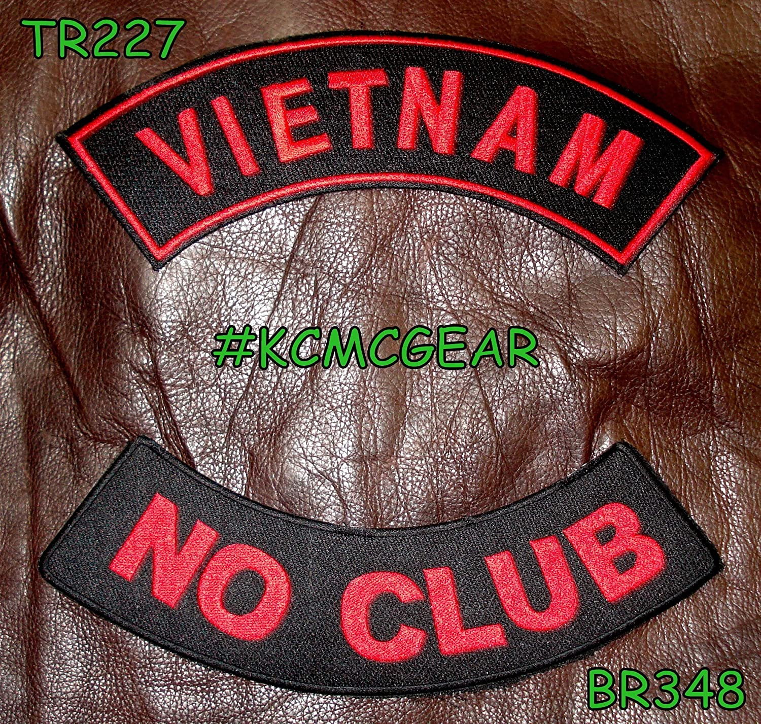 States Traveled LARGE Vest Motorcycle MC Club Embroidered Biker Patch PAT-1712