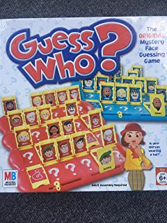 Guess Who Game Characters Names