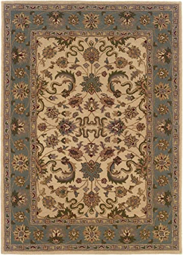 Linon Trio Traditional Natural Fiber Rug